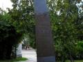Písek - pomník letcům RAF