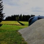 Tvrz Hanička a přilehlé bunkry