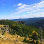 Sokolí skála – Opuštěné místo v Jeseníkách s výhledem na Praděd